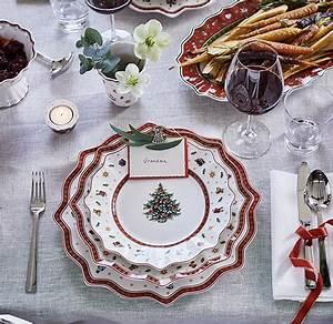Villeroy Boch Weihnachten : moderne und traditionelle weihnachtstische von villeroy boch ~ Orissabook.com Haus und Dekorationen