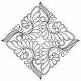 Quilting Designs English Digital Cottage Coloring Pages Medallion Celtic Mandala Snowflake Stencils Continuous Pattern Templates Block Patterns Enc Ssq Blk8 sketch template