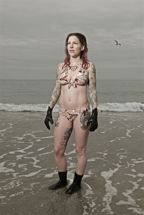 Portraits Of Winter Swimmers Who Revel In The Icy Atlantic Feature Shoot