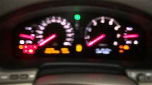 Toyota Crown 2003 Warning Lights Mean