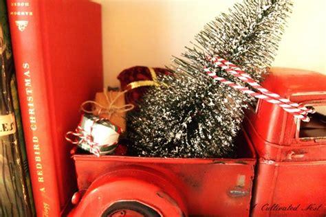 christmas farm truck  diy snowglobe  cultivated nest