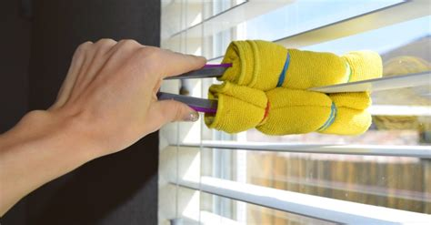 how to clean l shades the most efficient way to clean window blinds