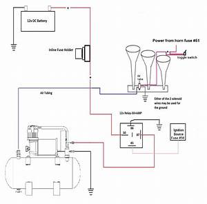 Push Button Horn Wiring Diagram