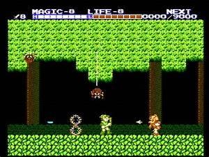 Zelda, Ii, The, Adventure, Of, Link, Screenshots, For, Nes
