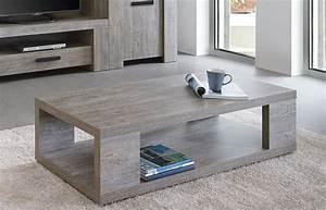 Meuble Chene Gris : meuble table basse contemporaine couleur ch ne gris ~ Teatrodelosmanantiales.com Idées de Décoration