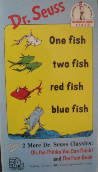 opening  dr seuss beginner book video  fish