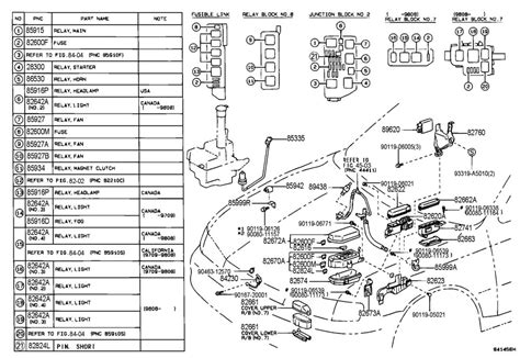 1997 Toyotum Avalon Engine Diagram by 1997 Toyota Avalon Parts Diagrams Wiring Diagram For Free