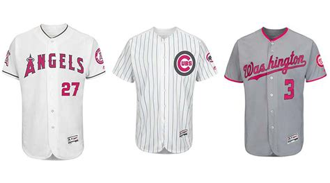 top  mlb mothers day  uniforms