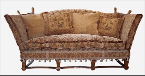 Second Bed Settees by Camelot Knole Sofa мебель Knole Sofa Sofa