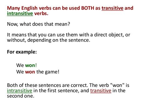 All Worksheets » Transitive And Intransitive Verbs Worksheets For Grade 5  Printable Worksheets