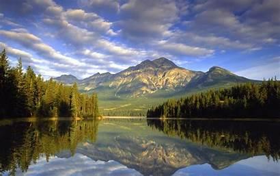 Mountain Scenes Water Lake Land April Wallpapersafari