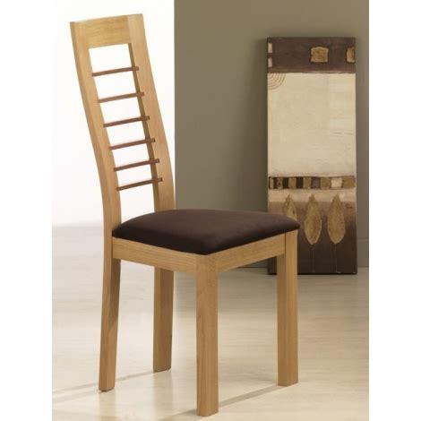 chaise de salle a manger en bois chaise en bois contemporaine cannelle