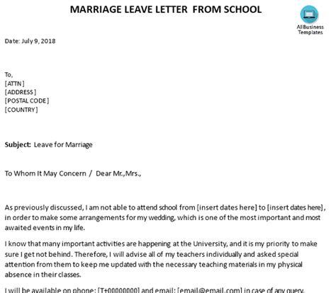 write  letter   absence  school
