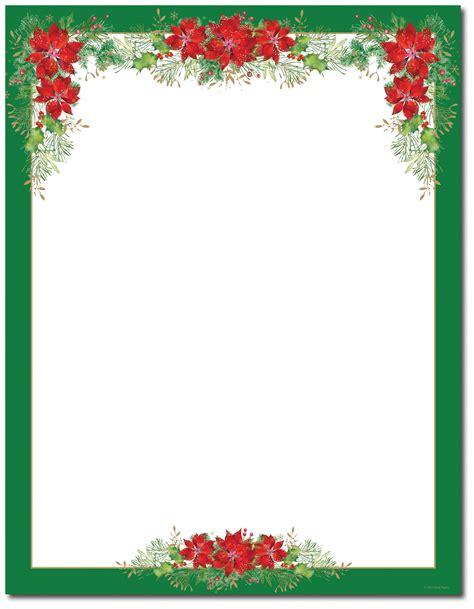 free christmas stationery stationery printer paper beautiful letterhead