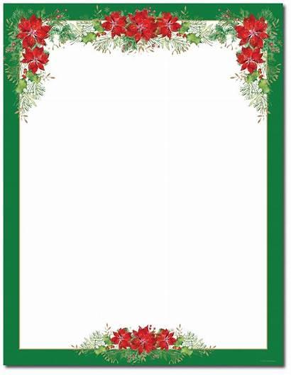 Borders Printable Stationery Christmas Stationary Christian Religious