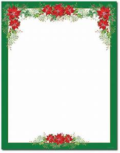 Christmas stationery printer paper beautiful christmas letterhead for Christmas stationary border