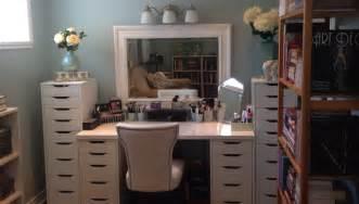 IKEA Makeup Vanity Table with Lights