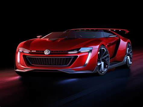 Volkswagen Vision Gti Roadster Gran Turismo Concept Car