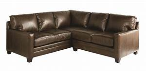 Bassett ladson sectional sofa dunk bright furniture for Small sectional sofa bassett