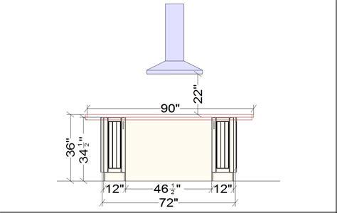 standard size kitchen island kitchen island dimensions laurensthoughts com