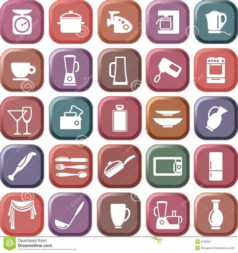 Kitchen Symbols Royalty Free Stock Photography   Image: 8726397