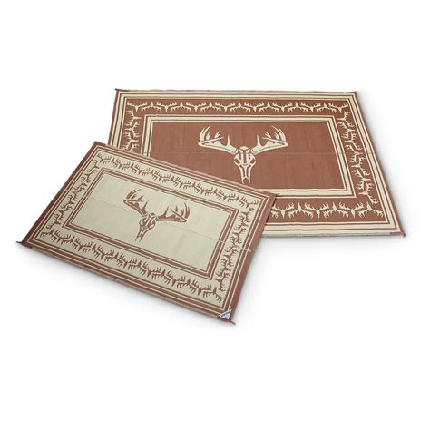 Reversible Outdoor Patio Mats by Guide Gear 9 X 12 Reversible Trophy Outdoor Patio Mat