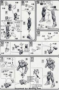 Hg 00 Gundam English Manual  U0026 Color Guide