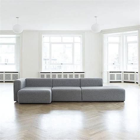 hay canapé sofa mags en tissu les modules hay