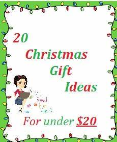 20 Christmas Gift Ideas For Under $20 00 – You Saved How Much
