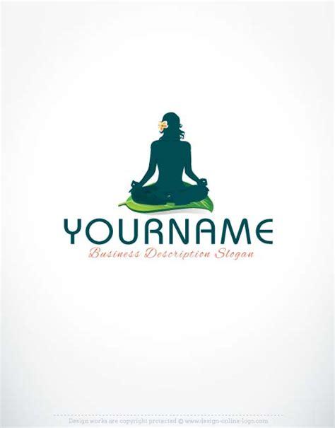 exclusive logo design yoga logo  business card
