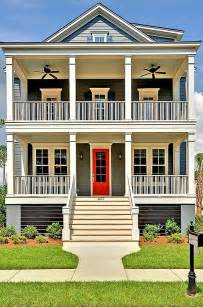 Houses with Double Front Porch