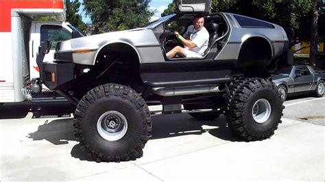 video de monster truck delorean monster truck youtube