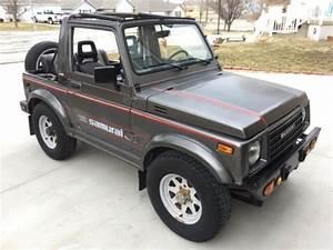 1987 Suzuki Samurai Special Edition 4x4 For Sale