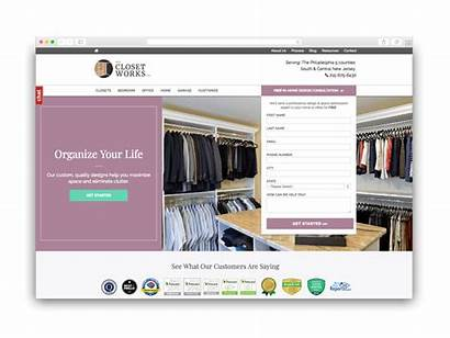 Websites Works Appealing Visually Closet Inbound Marketing