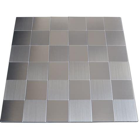 stainless steel tile stainless steel backsplash tiles self adhesive