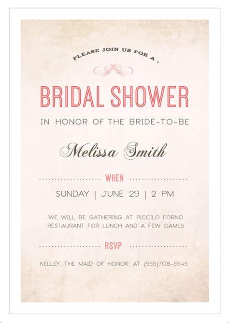 printable wedding shower invitations 22 free bridal shower printable invitations