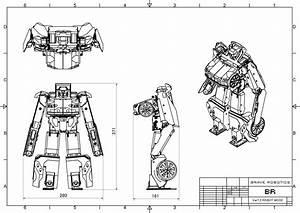 Rc 1  12 Scale  U201ctransformer Version 7 2 U201d Robot  On Sale