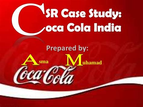 coca cola siege social corporate social responsibility study coca cola india