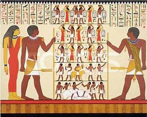 Frontalism in Ancient Egyptian wall art. | Art Through ...