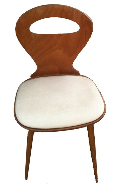 chaise bistrot baumann fourmi skaï bovintage