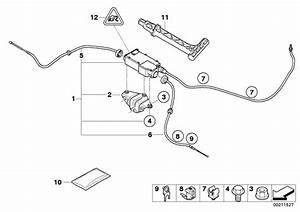 Bmw X5 Actuator With Control Unit  Parking  Lever