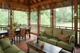 Screened Porch Seating Decor Enclosed Porch Decorating Ideas Charming
