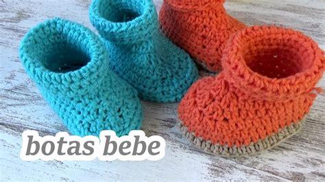 Como hacer botas patucos de crochet para bebe