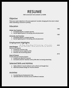 easy job resume samples resume template cover letter With example of cv for job
