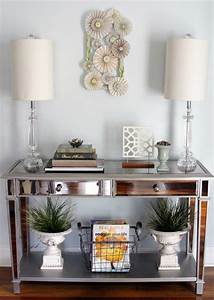 Mirrored Console Table - Eclectic - Entry - other metro