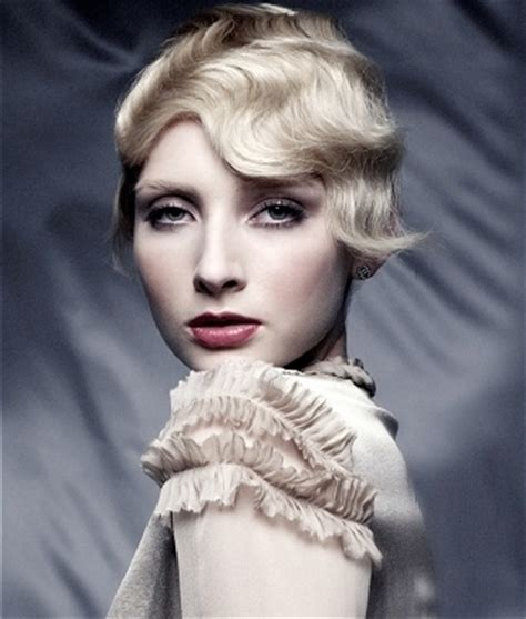 20s Hairstyles by 20s Flapper Hairstyles With Finger Waves