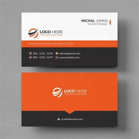 creative business card mockup  images business