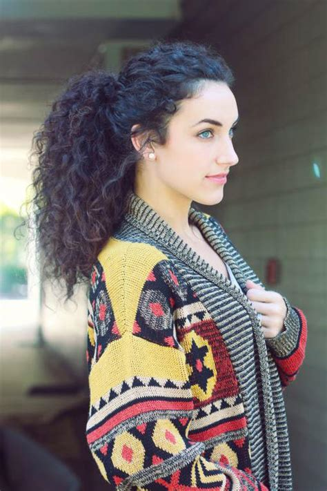 Easy Hairstyles For Mixed by 25 Easy And Hairstyles For Curly Hair Southern Living
