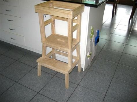 toddler step stool  kitchen woodworking projects plans