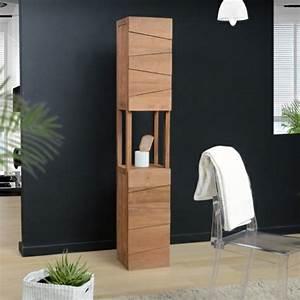 Plante Verte Salle De Bain : le meuble colonne en 45 photos qui vont vous inspirer ~ Melissatoandfro.com Idées de Décoration